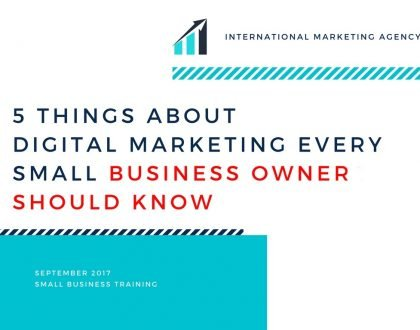 digital marketing small business owner
