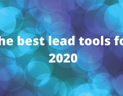 The Best Lead Generation Tools for 2020