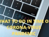 what to do in times of corona-virus pandemic
